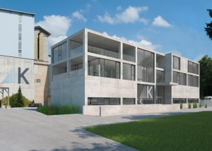 Visualisierung Verwaltungsgebäude - langhard architekten ag, Gwatt (Thun)
