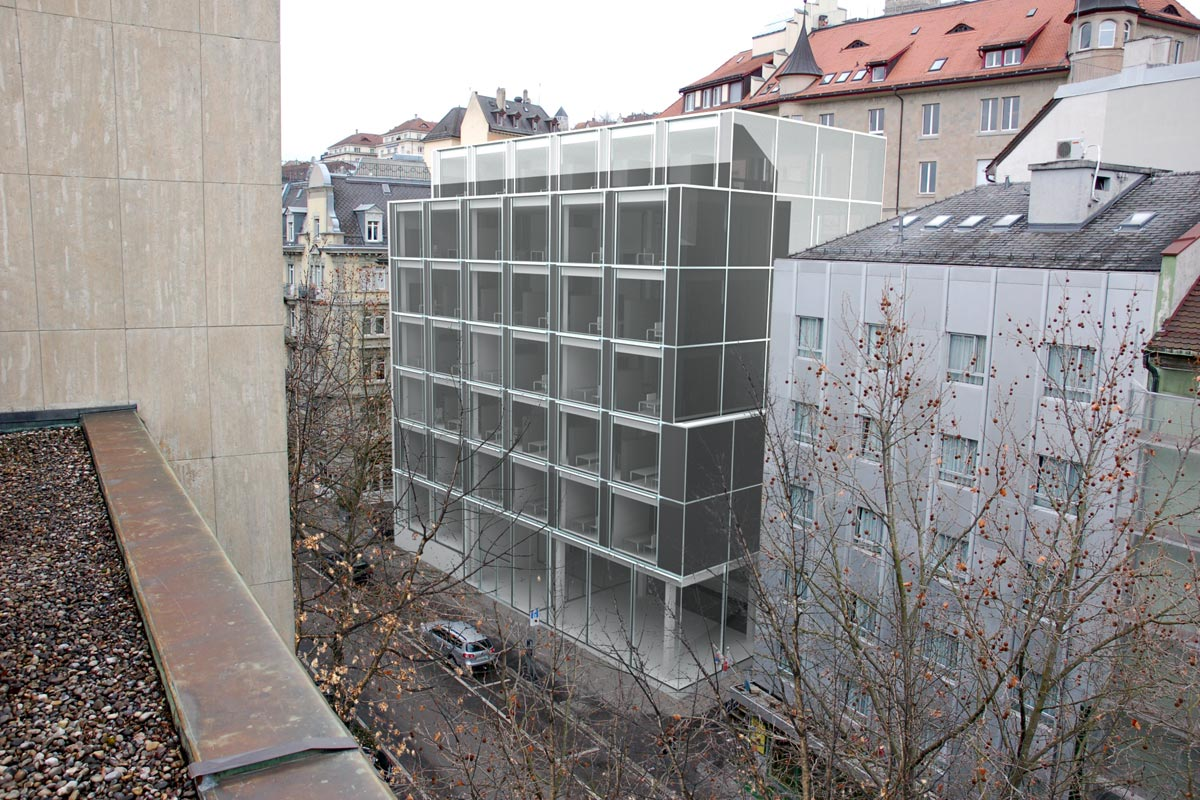Visualisierung Verwaltungsgebäude - Projektwettbewerb - Graser Architekten AG, Zürich