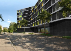 Visualisierung Altersheim - Projektwettbewerb - ehemals mvw-architekten, Zürich