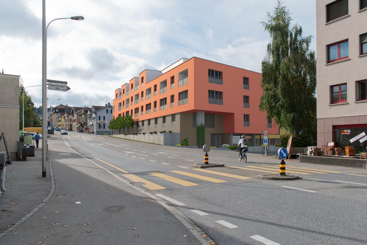 """Visualisierung """"Wohnen im Alter"""" - Karl Harlacher Architektur + Innenarchitektur, Winterthur"""