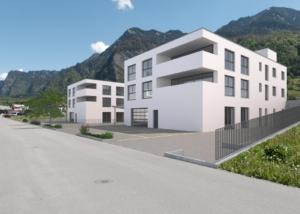 Visualisierung Wohn- und Gewerbehaus - Schlumpf Immobilien GmbH, Vilters