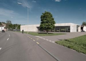Visualisierung Werkhof - Projektwettbewerb - Büro für Architektur - Hansjörg Betschart, Bülach