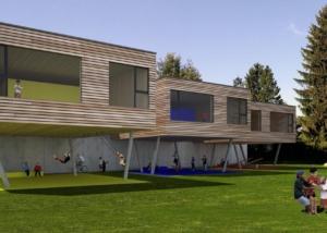 Visualisierung Kindergarten - Projektwettbewerb - bauwelt architekten ag, Biel