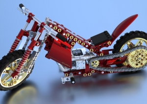 3D-Rendering Lego Technik Mod. 8291-2 (Customized) - MaxwellRender Competition 2011 (Rendering)
