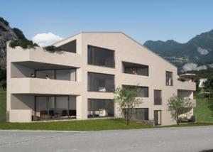 Visualisierung Wohnhaus - ediz...architekten, Tamins