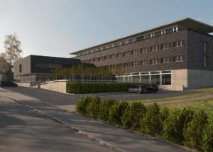 Visualisierung Wohnheim, Mayer Architektur AG, St. Gallen