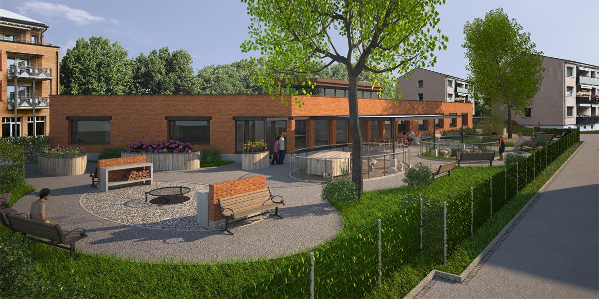 Visualisierung Altersheim, Severin Andermatt Planung und Bauberatung GmbH, Winterthur