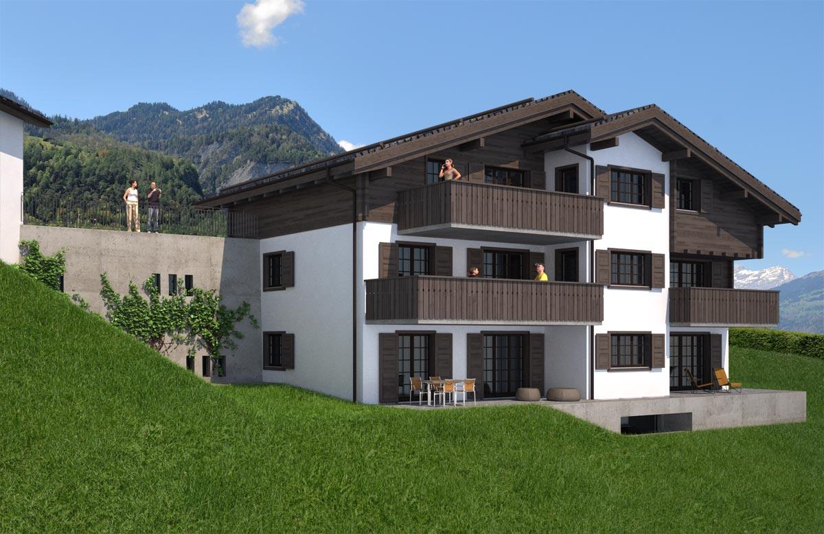 Visualisierung Wohnhaus - Mühlebach Architektur, Kreuzlingen