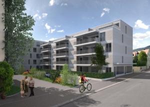 Visualisierung Wohnhaus, bauwelt architekten ag, Biel