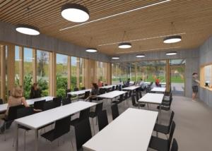 Visualisierung Bistro, JB Architekturbüro AG, Appenzell