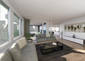 Visualisierung Wohnbereich, HAB AG, Flawil
