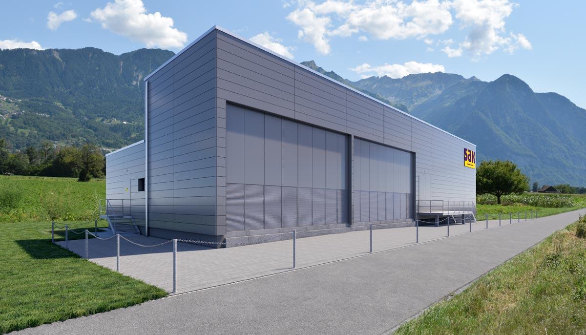Visualisierung Unterwerk - RLC Architekten AG, Rheineck