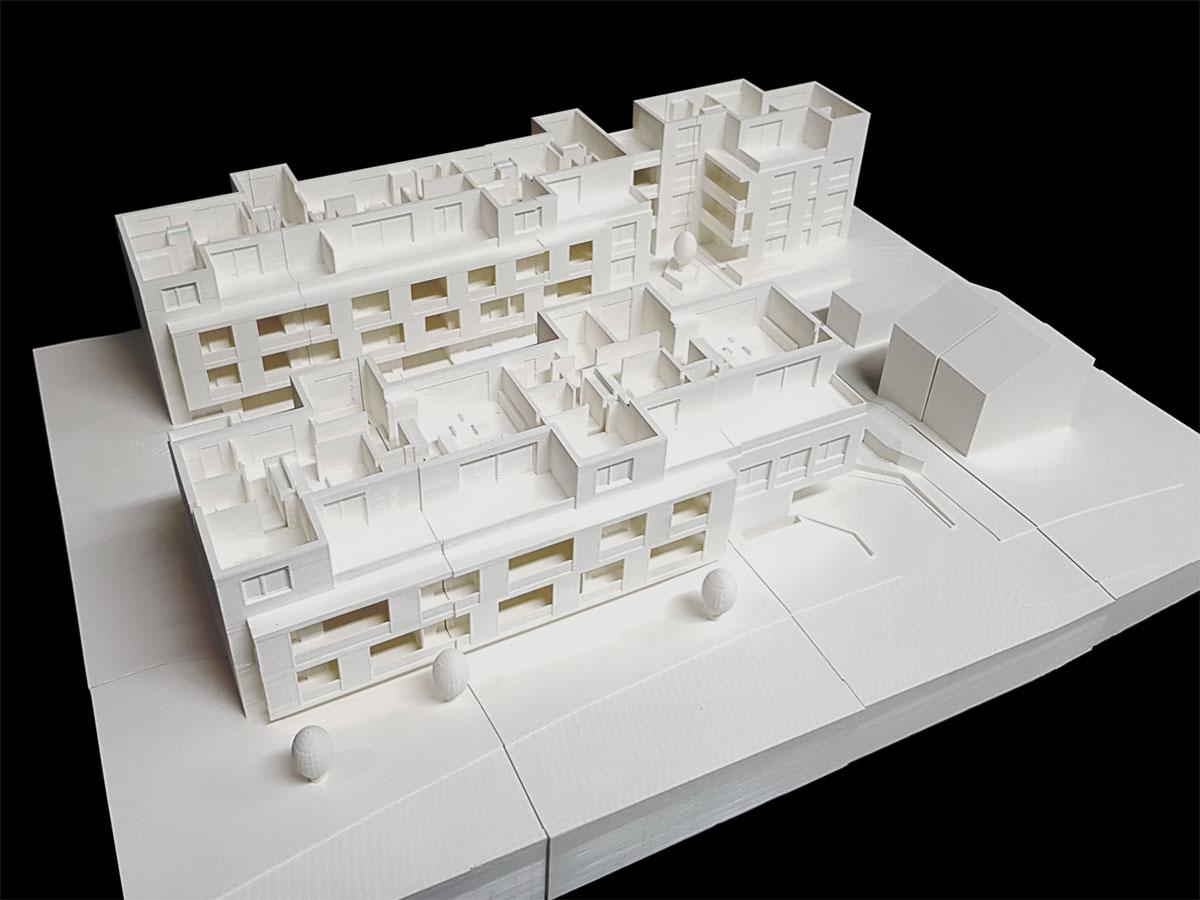 3D-Druck Wohnüberbauung - Linearch GmbH, Zürich